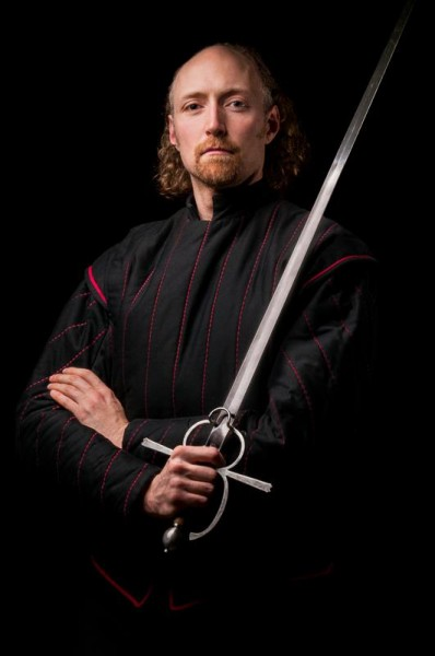 Devon Boorman, co-founder and director of Academie Duello Centre for Swordplay in Vancouver, Canada