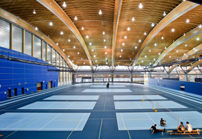 The Track Zone at the Richmond Olympic Oval