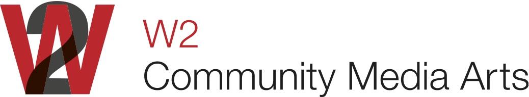 W2 Community Media Arts Logo